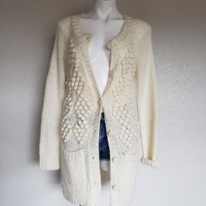 H&M | Chunky Knit Duster Long Cardigan Sweater M